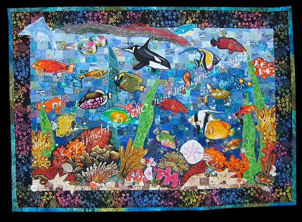 fish and quilting patterns books and links
