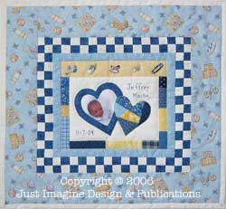 Quick and Easy Just For Baby Quilt Pattern : easy baby boy quilt patterns - Adamdwight.com
